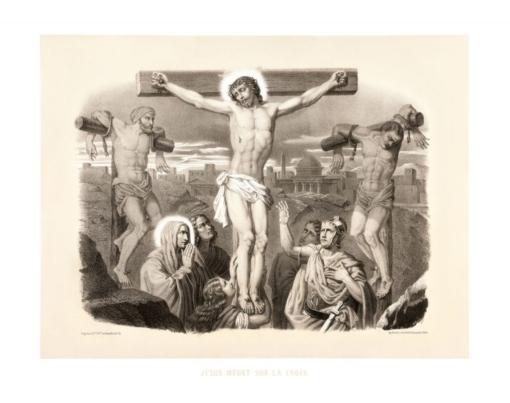 dvanácté zastavení: Pán Ježíš na kříži umírá